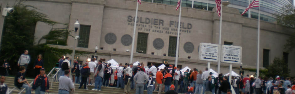 Since 1996 S3 has provided ushering and locker room security services to the Chicago Bears NFL Football Team